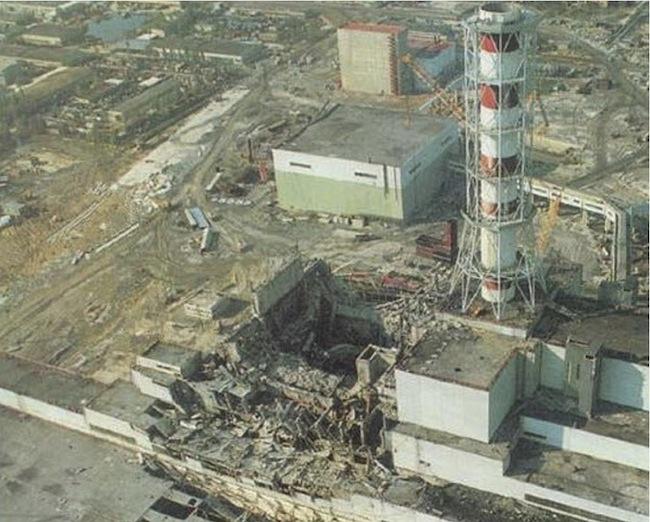 Авария Чернобыльской АЭС