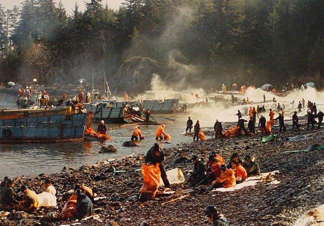 Авария танкера Exxon-Valdez