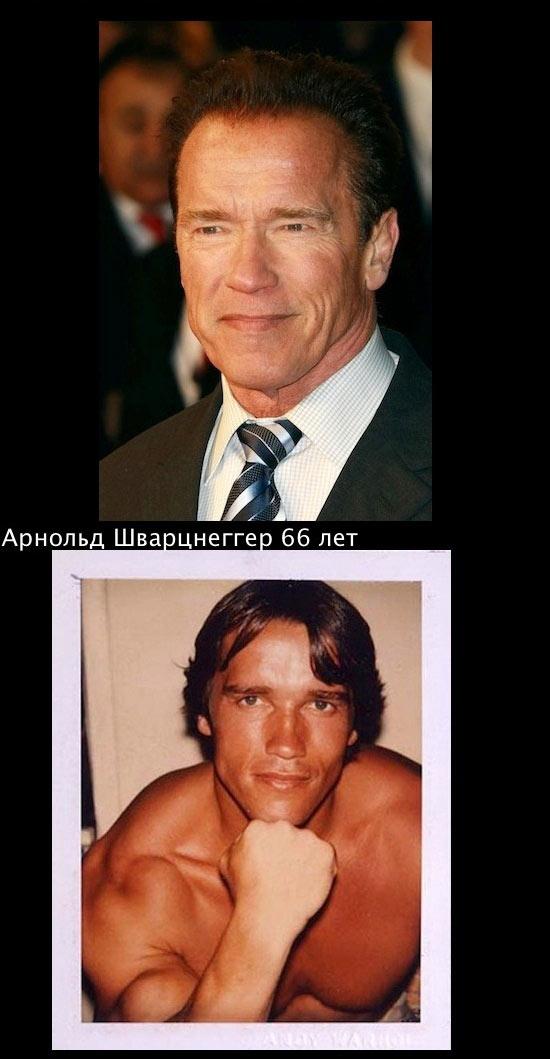 Знаменитые актеры тогда и сейчас