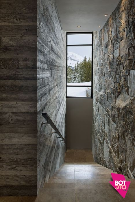 Красивый дом в горах 15