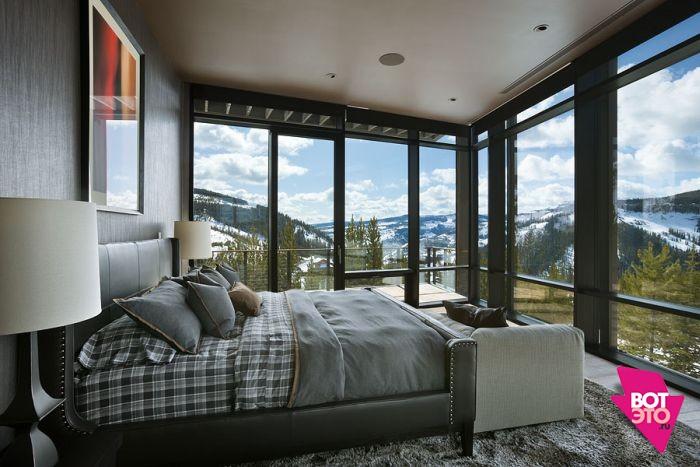 Красивый дом в горах 6