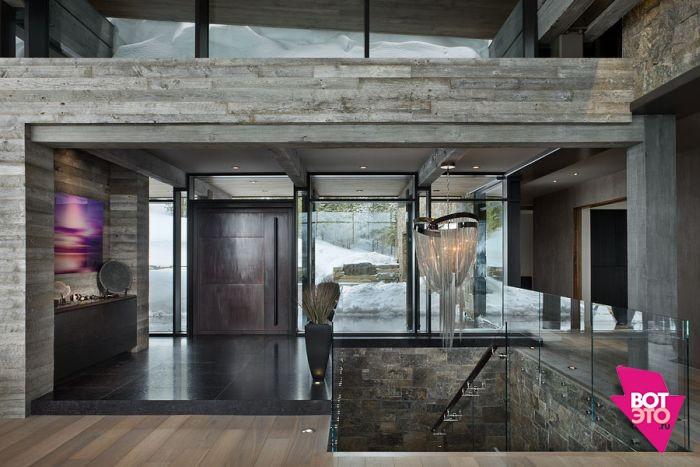 Красивый дом в горах 7