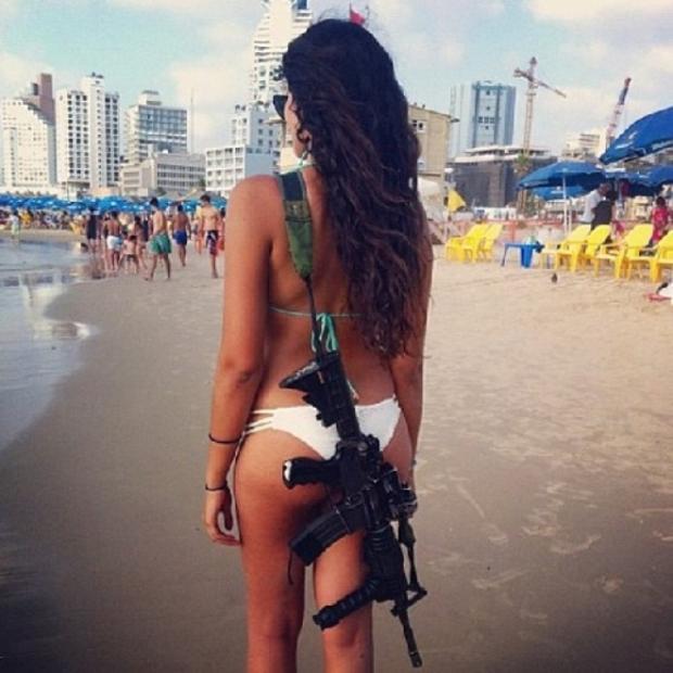 Красотки-военнослужащие Израиля 12