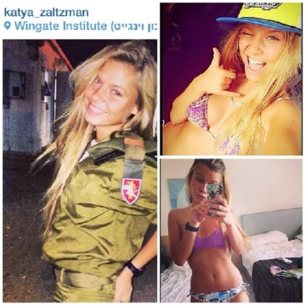 Красотки-военнослужащие Израиля 13
