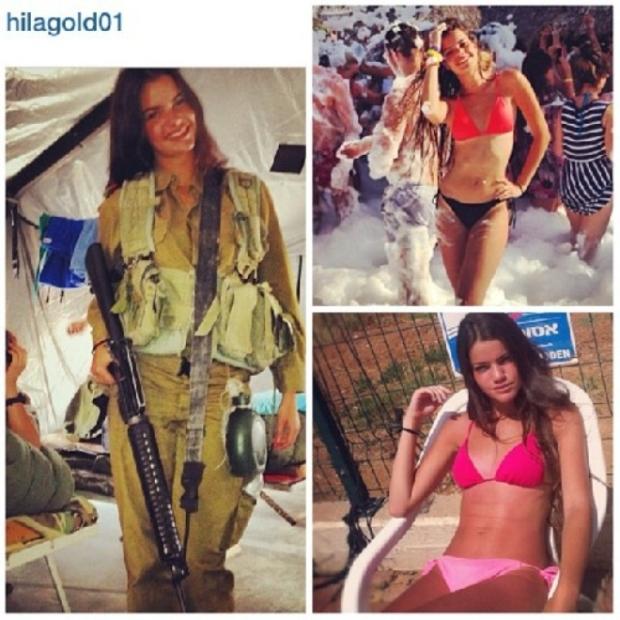 Красотки-военнослужащие Израиля 14