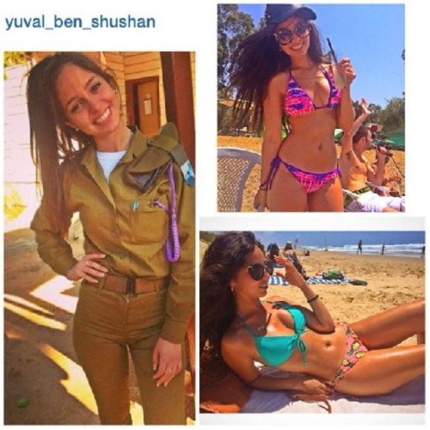 Красотки-военнослужащие Израиля 16