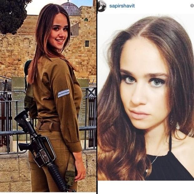 Красотки-военнослужащие Израиля 4