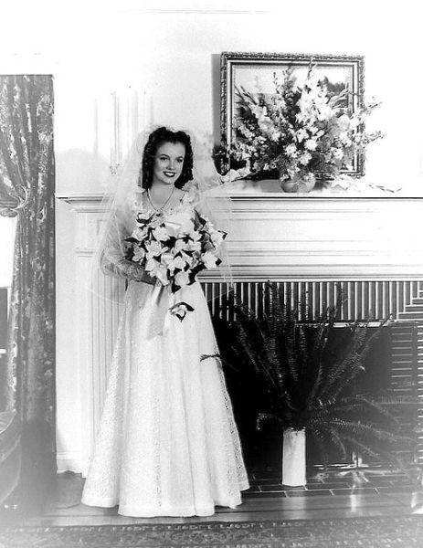 Мэрилин Монро свадьба