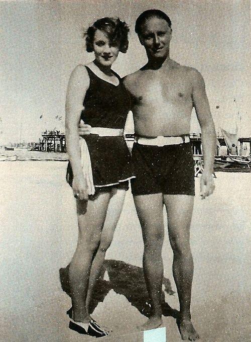 Чарли Чаплин и Марлен Дитрих