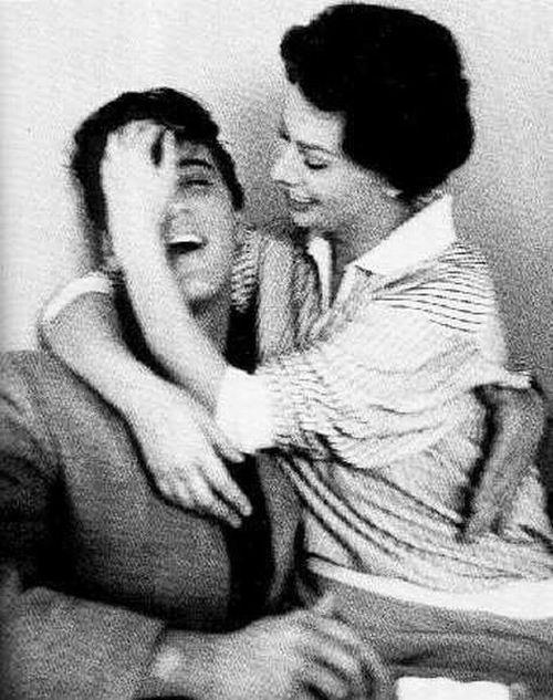 Элвис Пресли и Софи Лорен