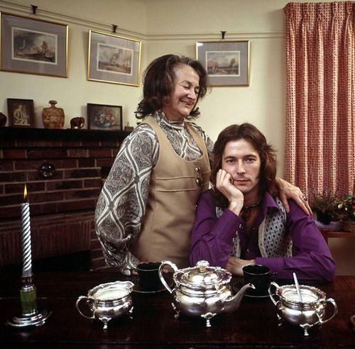 Эрик Елэптон с бабушкой