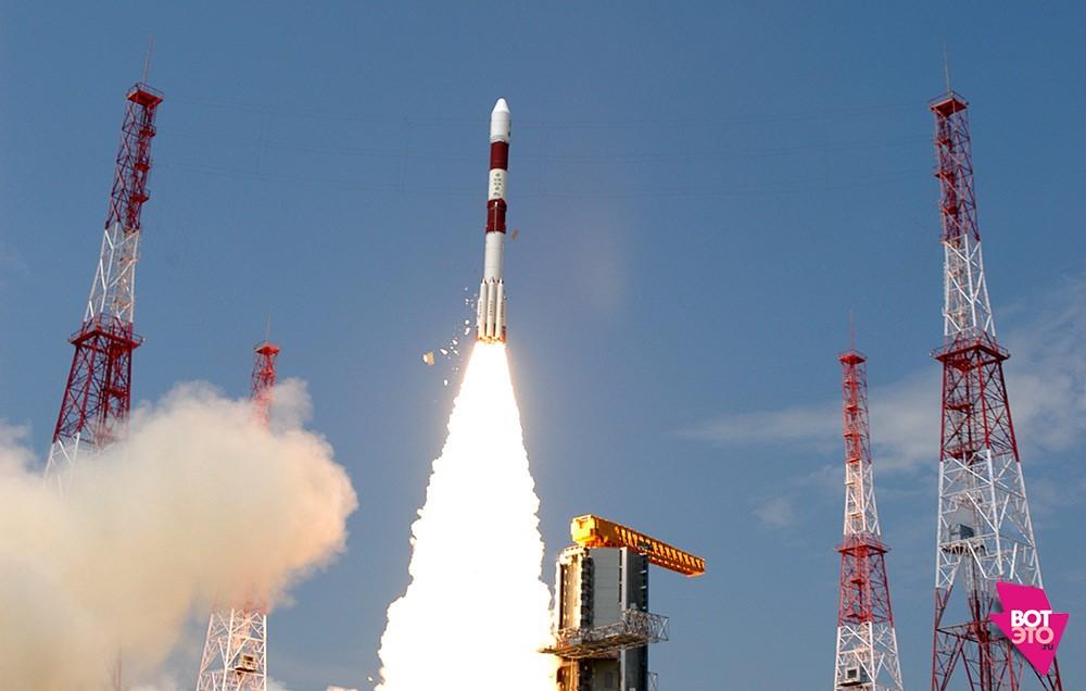 запуск индийского космического корабля