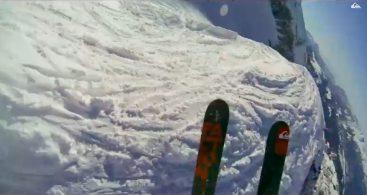 Лыжный экшн