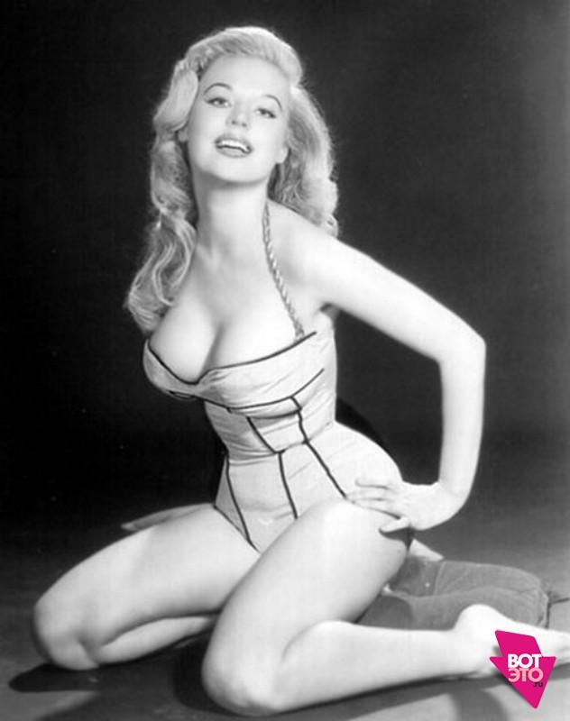 Идеальная фигура 50-х годов - Бетти Бросмер (37 фото)
