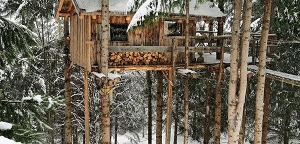 Уютный лесной домик