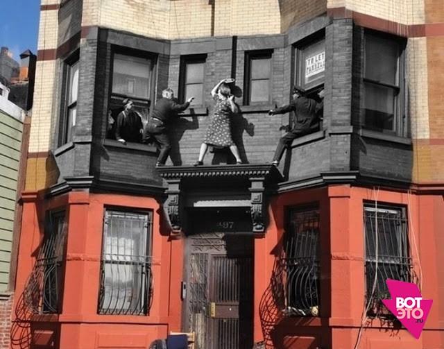 Необычный фотоэкскурс в историю Нью-Йорка