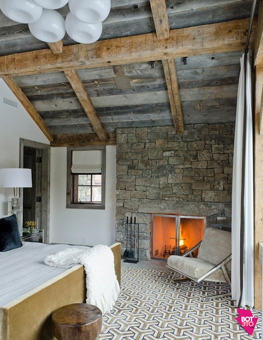 Дизайнерское решение уютного интерьера