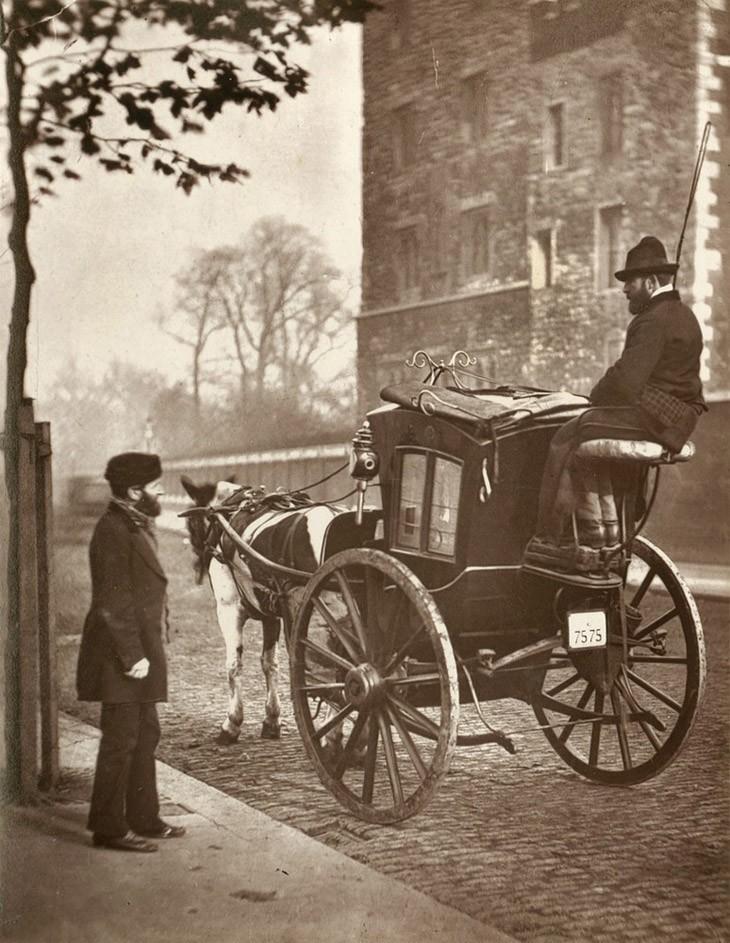 Улицы Лондона в  в 1876-1877 гг