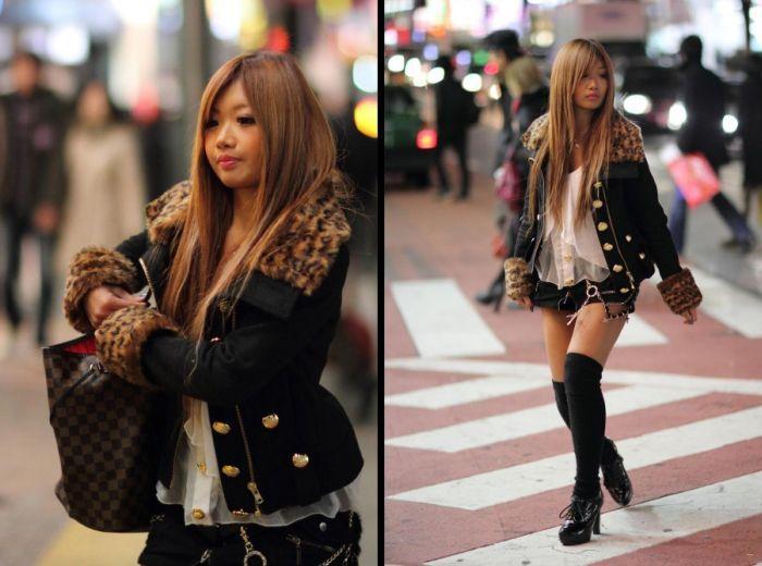 Японки на улицах Токио (47 фото)