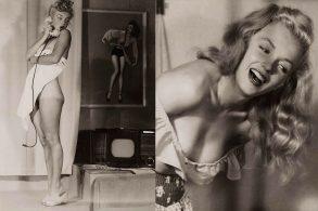Редкие фотографии Мэрилин Монро в стиле ню (54 фото).