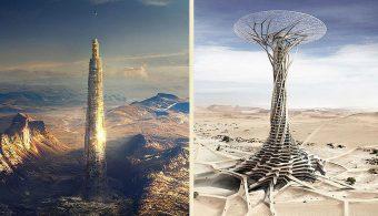 22 головокружительных идеи для небоскребов будущего