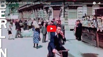 Берлин летом 1945 года в цвете