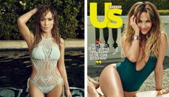 Дженифер Лопез в журнале Us Weekly Magazine
