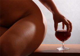 Алкоголь и характер женщины