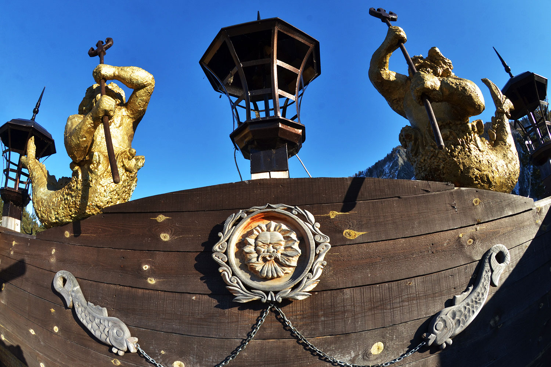 Корабль Черная Жемчужина Джека Воробья на Енисее 7