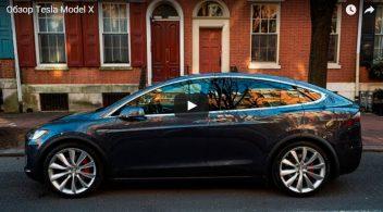 Обзор автомобиля Tesla Model X