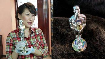 Ди Каприо получил статуэтку от якутских поклонников