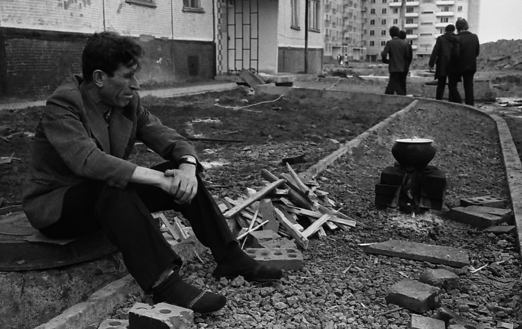 Новосел Ордженикидзевского района. Новокузнецк. 1984 год.