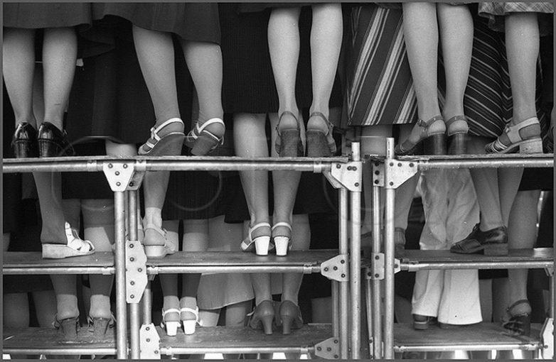 Женский хор. Городской праздник песни на Театральной площади. 3.06.1979 год.