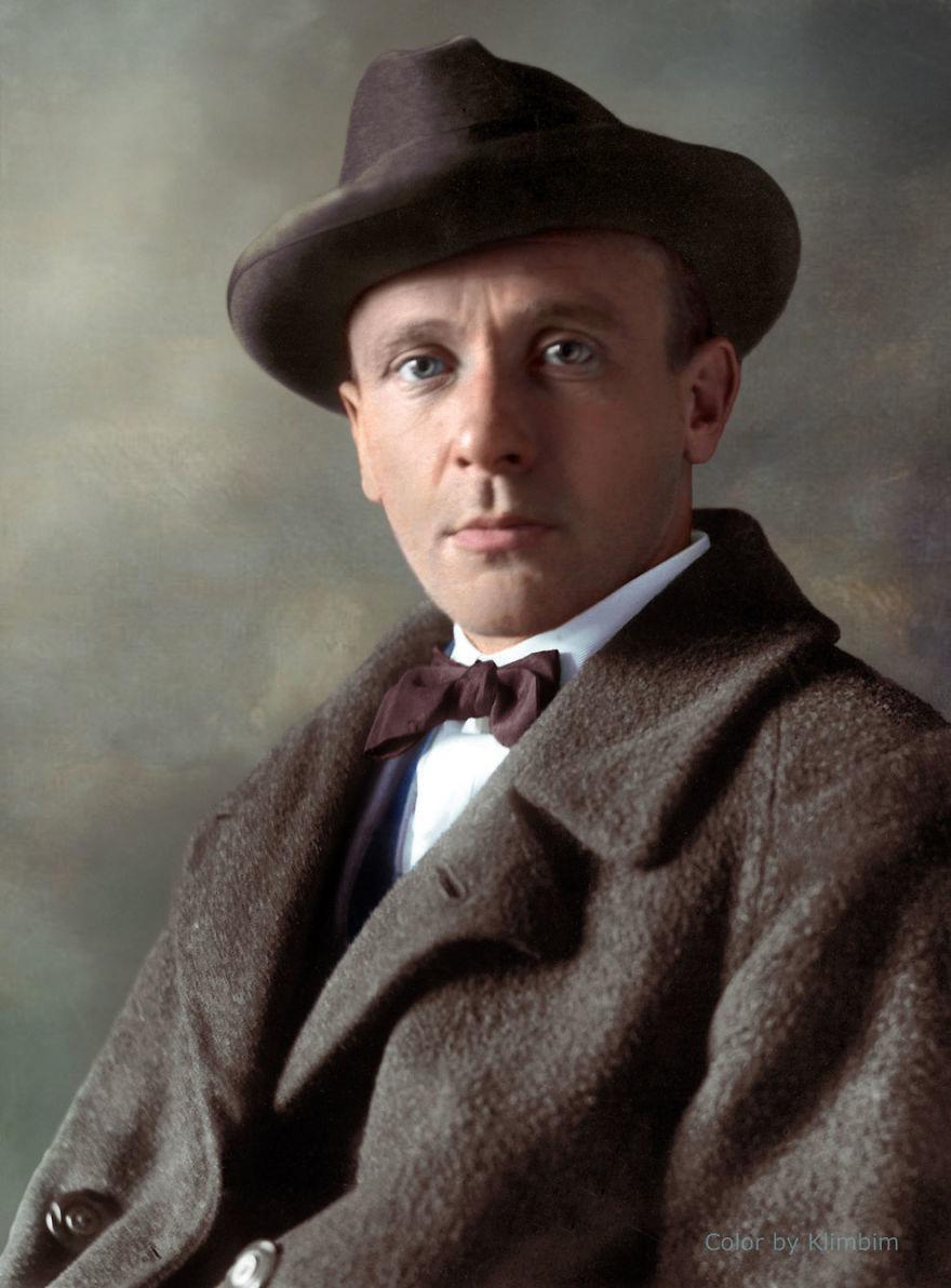Михаил Булгаков, цветное фото