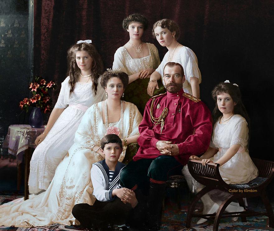Старые фотографии царской России и СССР в цвете