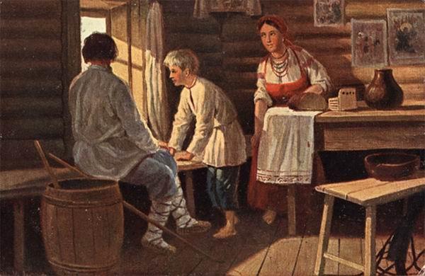 Крестьяне 19 века