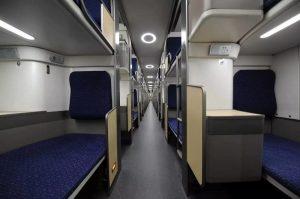 Как теперь выглядят плацкартные вагоны в Китае