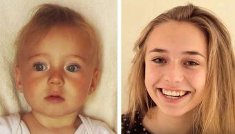 Папа снимал свою дочь на протяжении 18 лет и сделал невероятное видео её взросления!
