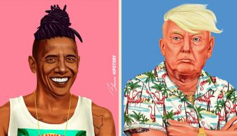 Как выглядели бы мировые лидеры-хипстеры