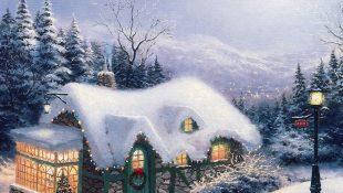 Волшебные зимние пейзажи