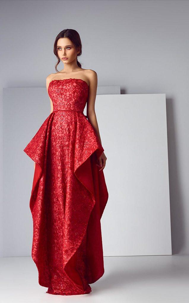 Вечерние платья от ливанского дизайнера