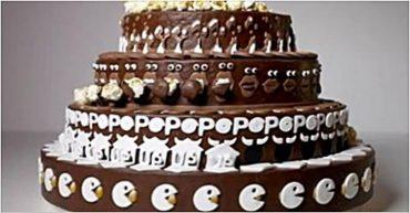 Самый необычный торт, который мы только видели. Посмотрите, что произойдёт когда он начнёт вращаться!