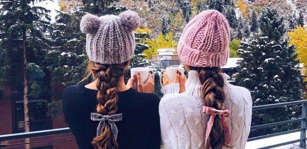 Модная зима: женские образы для холодов 2018 (20 фото)