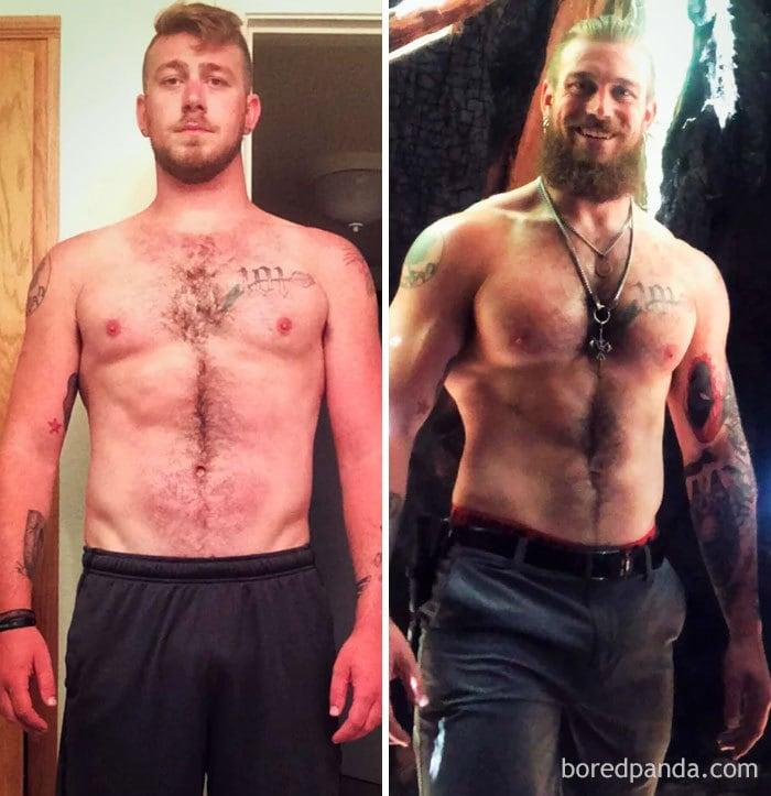 20 фотографий людей до и после того, как они завязали с алкоголем и перезапустили свою жизнь