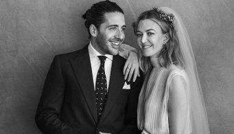 Розовое свадебное платье Valentino для самой богатой женщины на планете