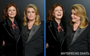 А ведь им за 70! Снимки Катрин Денев и Сьюзан Сарандон наделали много шума