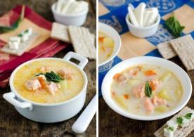 Сырный рыбный суп (рецепт)