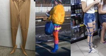Смешные модники с улицы, которые удивляют своим видом