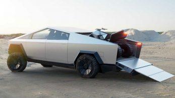 Илон Маск представил новый прототип электропикапа CyberTruck