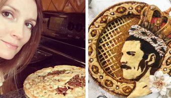 Девушка делает пироги с лицами знаменитостей. Вы бы попробовали?